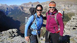 NoticiaLaia Sanz sube al Monte Perdido con Edurne Pasabán