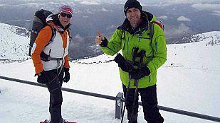 NoticiaEdurne  y Julio Salinas suben a La Torreta de l'Orri