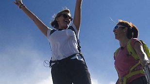 NoticiaAinhoa Arteta sube al Monte Aitxuri