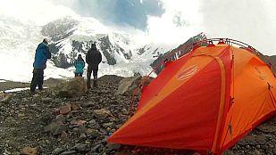 VideoAlta montaña: Un pico en la frontera
