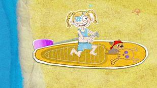 VideoLa pirata de los mares del surf