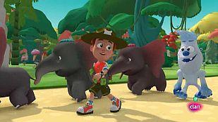 VideoUn tren de elefantes