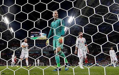 De Gea ha cometido un error fatal en el segundo gol de Portugal.