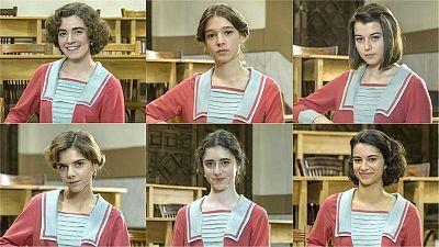 ¿A qué alumna de la Academia de señoritas de pareces?