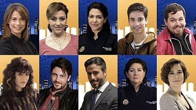Algunos de los personajes de la segunda temporada de 'Servir y proteger'