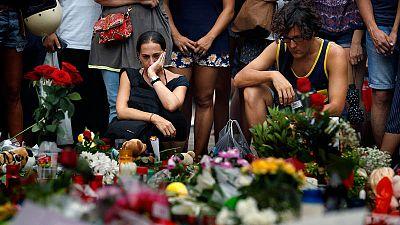 Tras el doble atentado en Cataluña, se multiplicaron los homenajes a las víctimas.