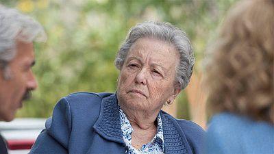 María Galiana comparte mesa con Imanol Arias y Ana Duato