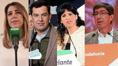 Candidatos elecciones Andalucía