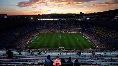 Vista del Camp Nou