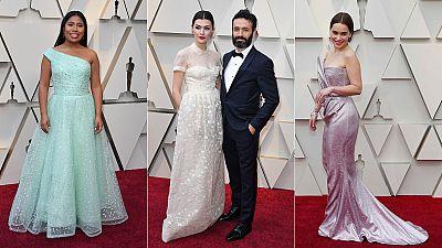 La alfombra roja de los Oscars, con lupa