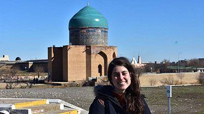 Maria Diego Bordón, española afincada en Almaty, Kazajistán, volverá a quedarse sin votar
