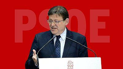 Ximo Puig, candidato del PSOE a la Presidencia de la Generalitat Valenciana