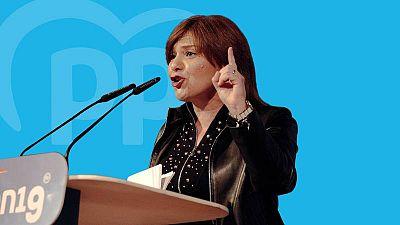 Isabel Bonig, candidata del PP en las elecciones de la Comunidad Valenciana