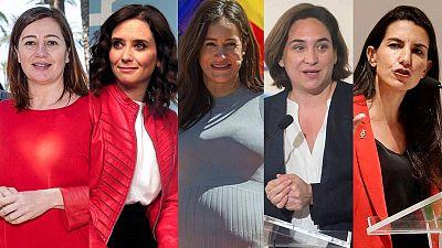 Candidatas de los principales partidos a las autonómicas y municipales del 26M