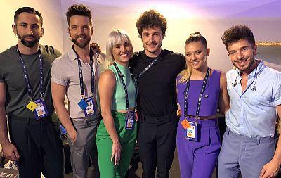 Miki, horas antes de subirse al escenario de Eurovisión 2019