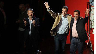 El PSOE gana las elecciones en Canarias