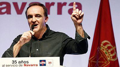 Jose Javier Esparza de Navarra Suma gana en las autonómicas
