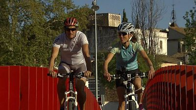 Pilar Hidalgo. Triatleta campeona del mundo.