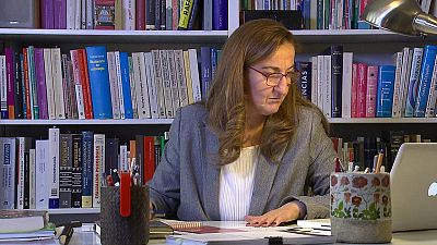 María Fernández Ostolaza. Psicóloga y psicoanalista, vivió dos retiradas: como gimnasta y como entrenadora.