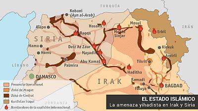El Estado Islámico en Siria e Irak.