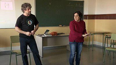 Erick Pescador y Marian Moreno, curso sobre machismo