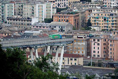 Decenas de muertos en el derrumbe de un viaducto en Génova