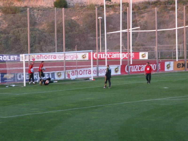 Último entrenamiento de la selección en Las Rozas | 2