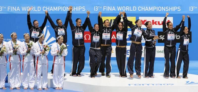El equipo español de natación sincronizada ha conseguido el primer oro de su historia en un Mundial.