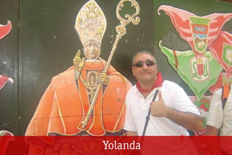 He vivido los sanfermines 2010 con el amor de mi vida y con el Santo de mi vida. ¡Gora San Fermín!