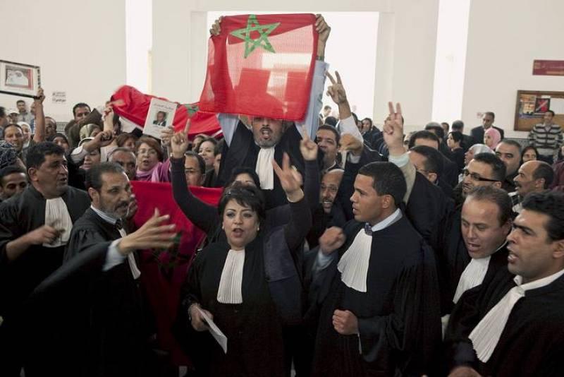 El problema ha estado en el interior de la sala del tribunal