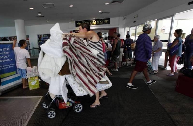 La población del norte de Australia ha buscado refugio hasta que pase el ciclón