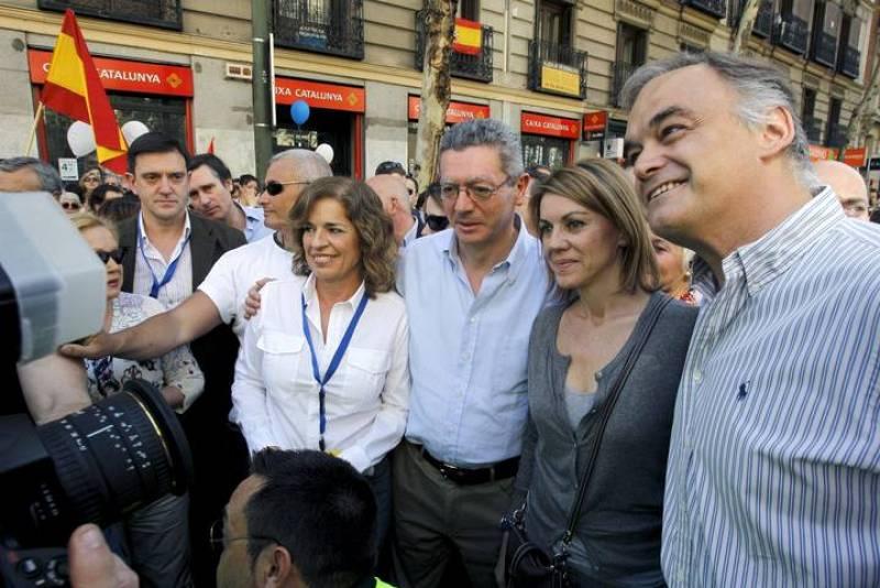 MANIFESTACIÓN EN MADRID CONTRA ETA