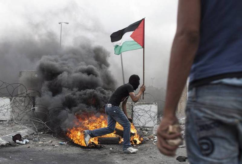 Enfrentamientos en Palestina