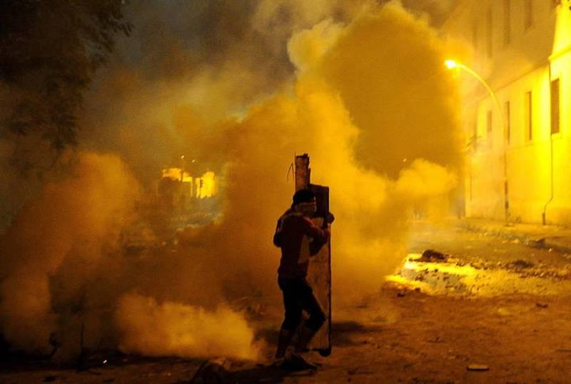 ENFRENTAMIENTOS EN EL CAIRO DESPUÉS DE DISTURBIOS EN PARTIDO DE FÚTBOL