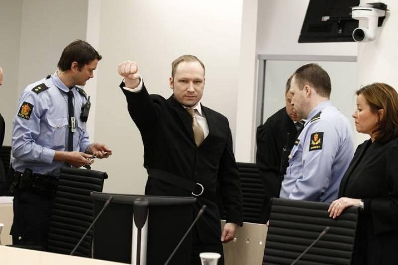 Desafío de Andres Breivik antes de arrancar el juicio en Oslo