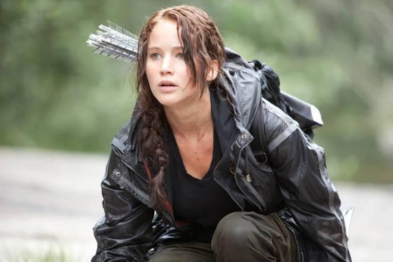 Jennifer Lawrence da vida a Katniss Everdeen, heroína de la película
