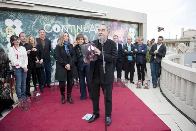 Ferran Adrià amb el premi