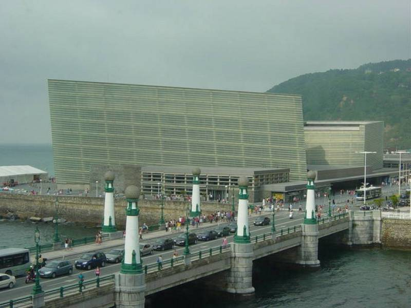 El Palacio de Kursaal en San Sebastián