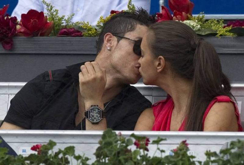 Cristiano Ronaldo e Irina Shayk, amor en el Master 1000 Madrid