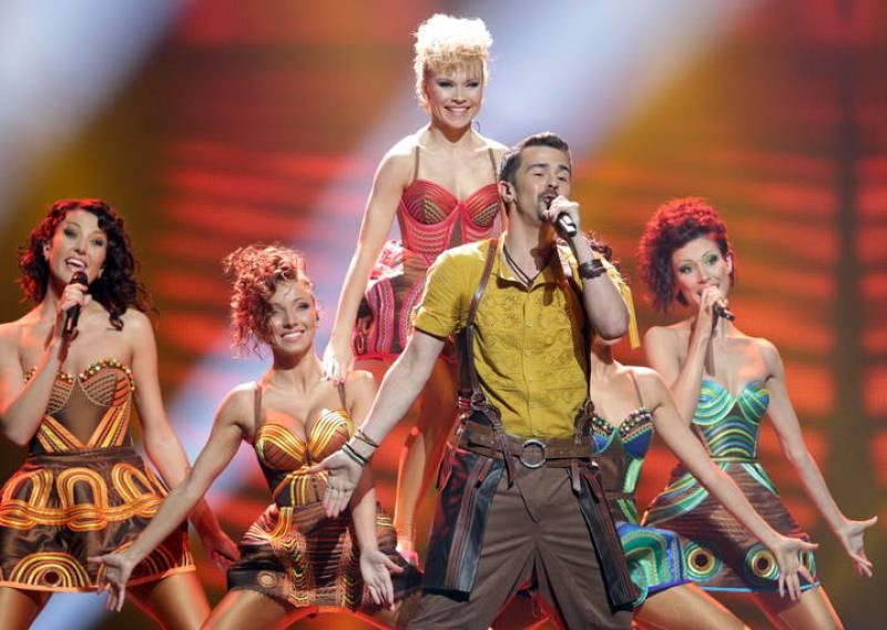Pasha Parfenym, que representa a Moldavia, se ha colado en la final de Eurovisión