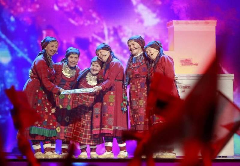 Las representantes de Rusia, las Buranovskiye Babushki, han interpretado el tema 'Party for everybody'