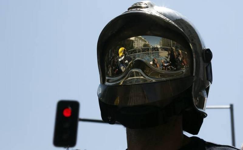 Los bomberos se suman a las protestas