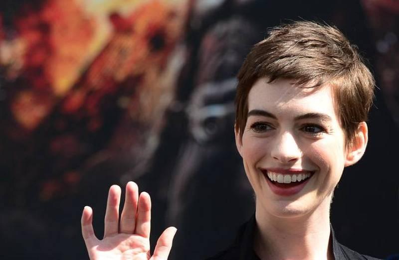 El maquillaje de Anne Hathaway