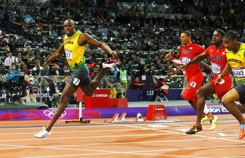 Bolt se ha quedado a solo cuatro centésimas de igualar su récord del mundo.