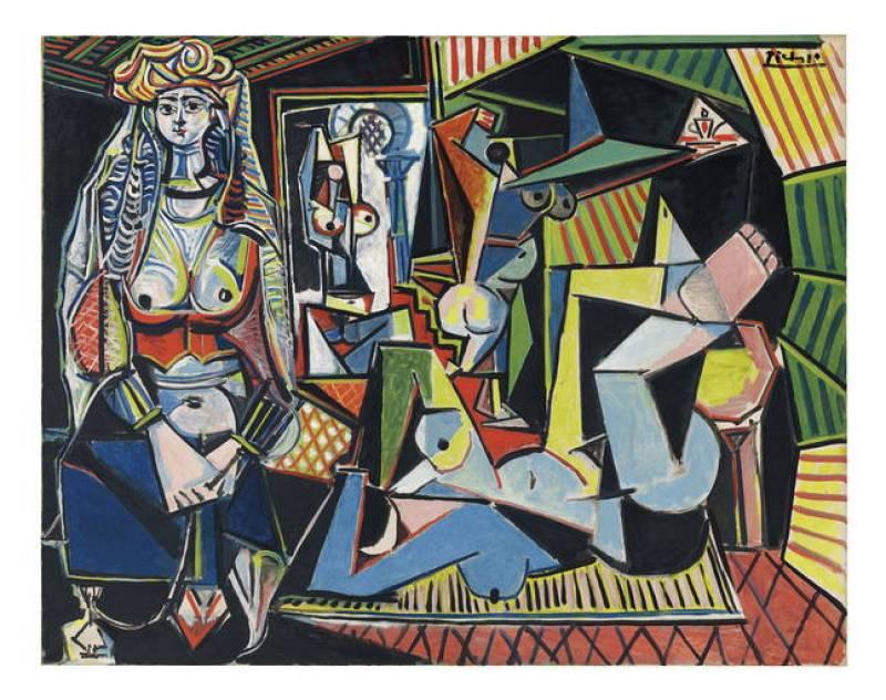 """La mujeres de Argel"", Pablo Picasso (1955)"