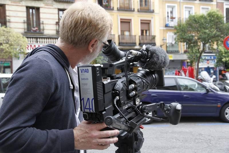 Detalle de la cámara utilizada en el curso de 4K