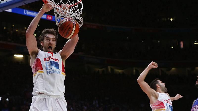 España elimina a Francia y se mete en la final del Eurobasket
