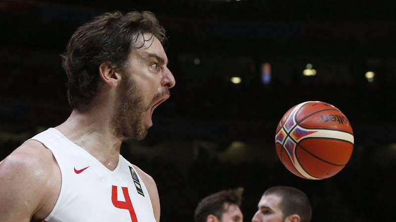 Un gran Gasol mete a España en la final del Eurobasket