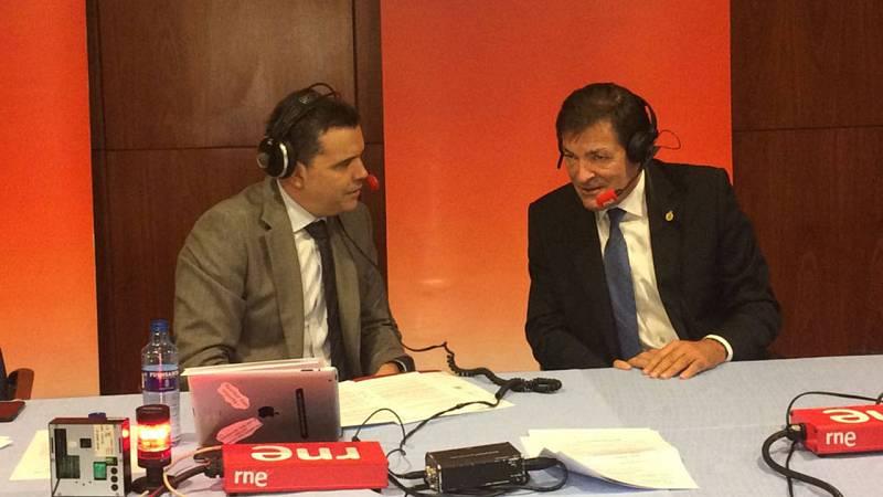 Javier Fernández, presidente del Principado y presidente de la gestora del PSOE