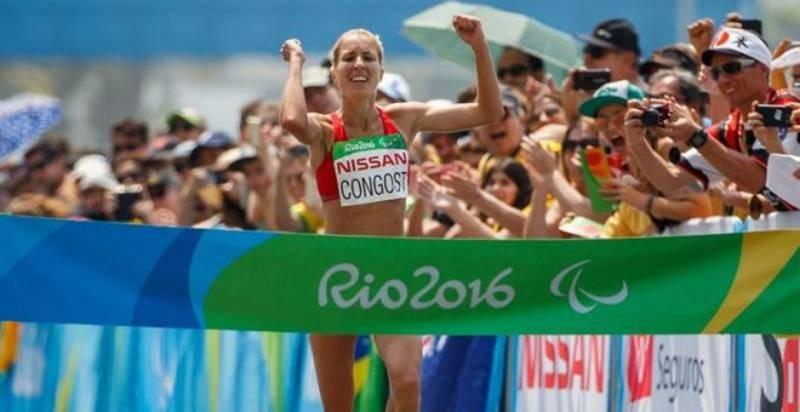 Lo mejor de los Paralímpicos de Río. Elena Congost